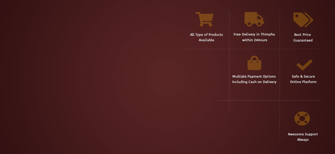 Online Shopping in Bhutan