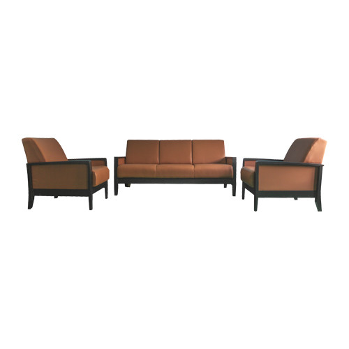 5-Seater Leather Sofa Set