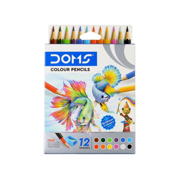 Doms Colour Pencils, 85mm